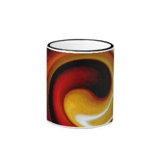 """""""ABSTRACT 1"""" 11 oz. RINGER COFFEE MUG"""