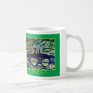 """Abstract#1"" by Zermeno Classic White Coffee Mug"