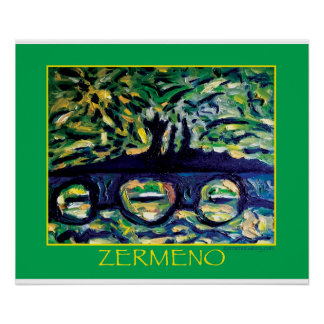 Abstract #1 by Zermeno Poster