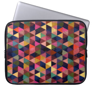 Abstract #374 laptop computer sleeve
