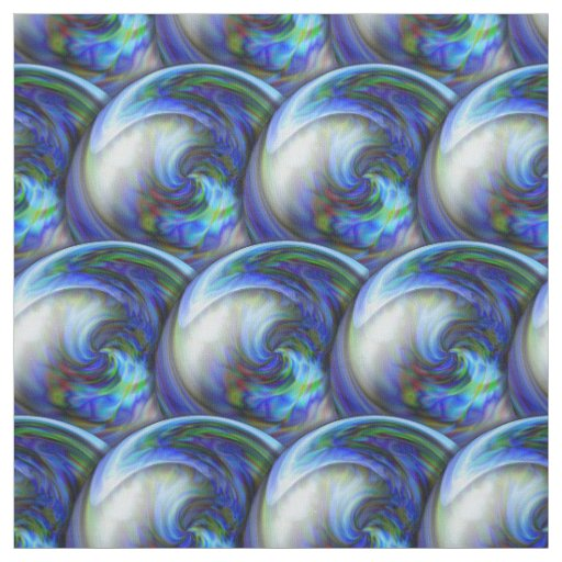 Abstract 3d circles pattern with bubbles. fabric