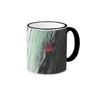 abstract 4 ringer mug