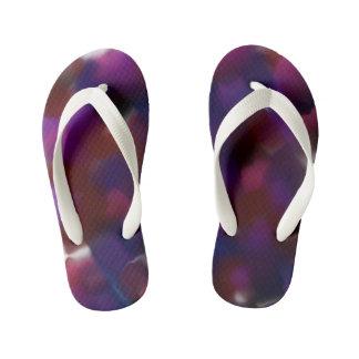 Abstract 500 kid's flip flops