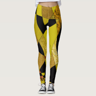 Abstract #508 leggings