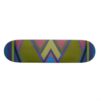 Abstract #575 20.6 cm skateboard deck
