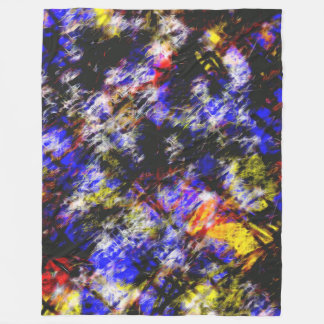 Abstract 5914 fleece blanket