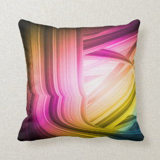 Abstract 60 s American MoJo Pillow