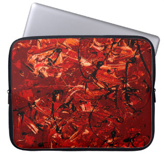 Abstract #757 laptop sleeve