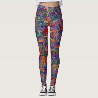 Abstract #817 leggings