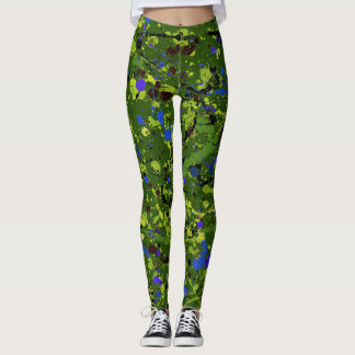 Abstract #903 leggings