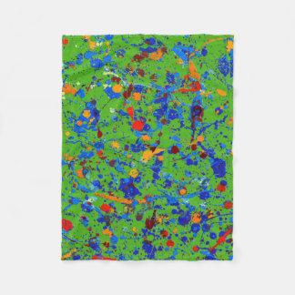 Abstract #905 fleece blanket