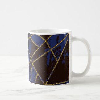 Abstract #941 Blue Coffee Mug