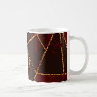Abstract #943 Red Coffee Mug