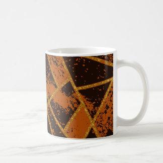 Abstract #944 Brown Coffee Mug