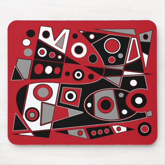 Abstract #971 mouse mat