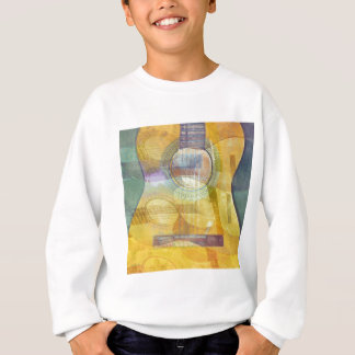 Abstract Acoustic Guitar Sweatshirt