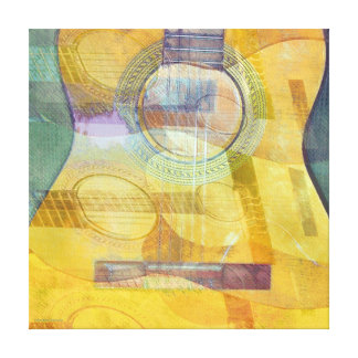Abstract Acoustic Wrapped Canvas Gallery Wrap Canvas