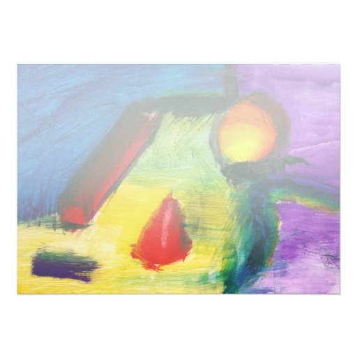 Abstract - Acrylic - Primitives Announcement