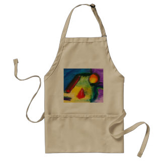 Abstract - Acrylic - Primitives Standard Apron