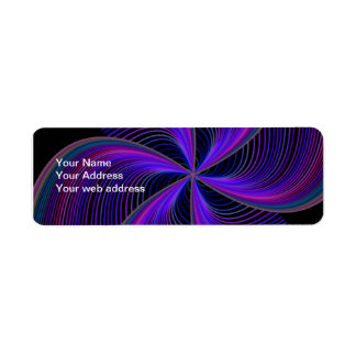 Abstract Adress Label