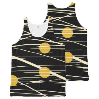 abstract All-Over print tank top