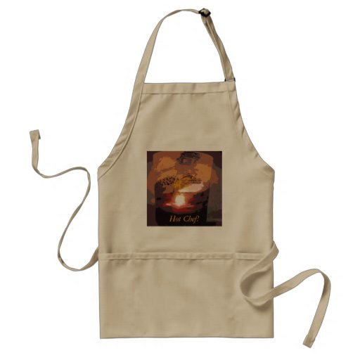 Abstract Alligator Reptile Art Aprons