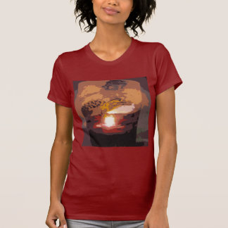Abstract Alligator Reptile Art T Shirt