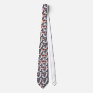 Abstract America Collage 2 Tie