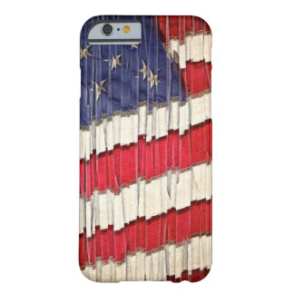 Abstract American Flag Barely There iPhone 6 Case