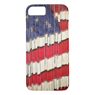 Abstract American Flag iPhone 7 Case