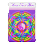 Abstract and Ying Tang Design Fractal Geometric iPad Mini Covers