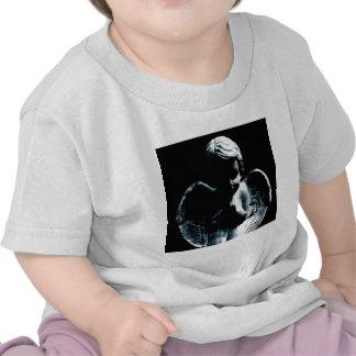 Abstract Angel Baby Statue Tee Shirt