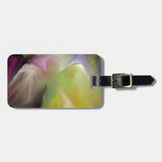 Abstract Angel Design Luggage Tag