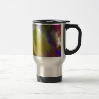 Abstract Angel Design Travel Mug
