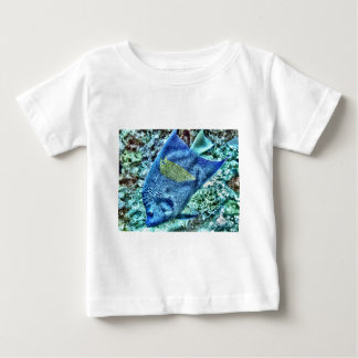 Abstract Angel Fish Baby T-Shirt