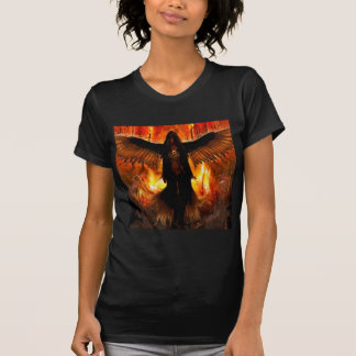 Abstract Angel Hell Fire T-Shirt