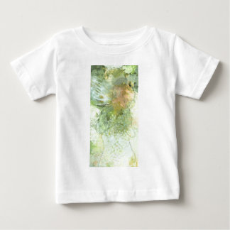 Abstract Angel in Olive Greens and Yellows Tee Shirt
