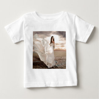 Abstract Angel White Dressed Beauty Baby T-Shirt