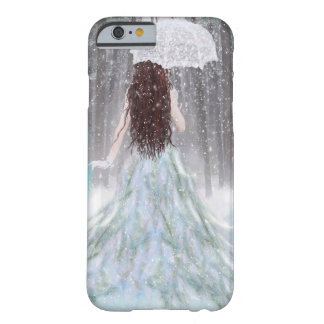 Abstract Angel Winter Snow Princess Barely There iPhone 6 Case