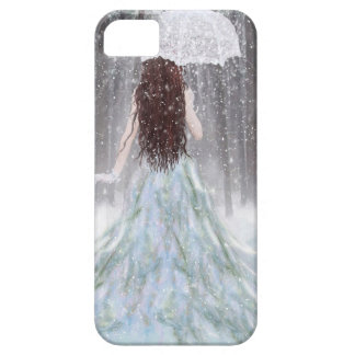 Abstract Angel Winter Snow Princess iPhone 5 Covers