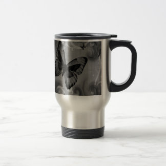 Abstract Animal Black Butterfly Coffee Mugs
