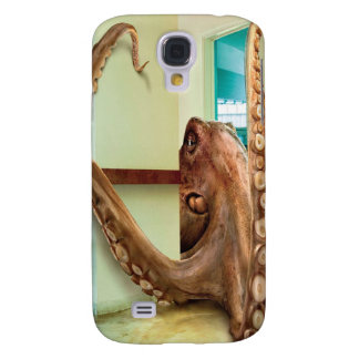 Abstract Animal Home Octopus Galaxy S4 Case
