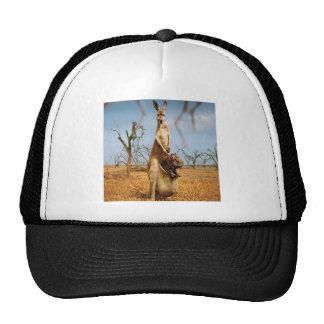 Abstract Animal Kangaroo Wierd Cap