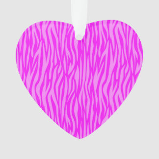 abstract animal print, pink ornament