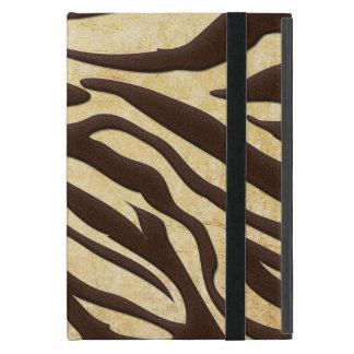 Abstract Animal Print Zebra iPad Mini Case