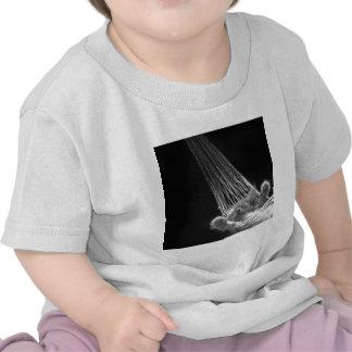 Abstract Animal Sleeping Kitty Tee Shirts