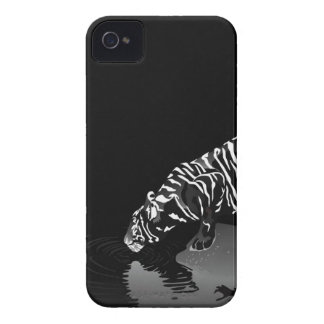 Abstract Animal Stripped Tiger Case-Mate iPhone 4 Cases