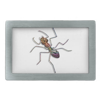 Abstract ant. belt buckles