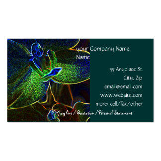 Abstract Anthura business card template