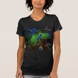 Abstract Anthura ladies petite t-shirt
